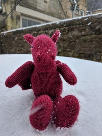 Jo the snow dragon
