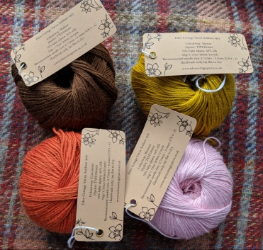 Eden Cottage Yarns Askham 4 ply