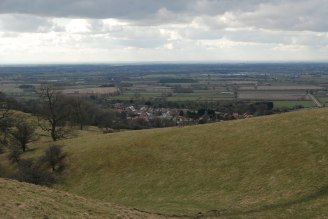 View across the Vale of York