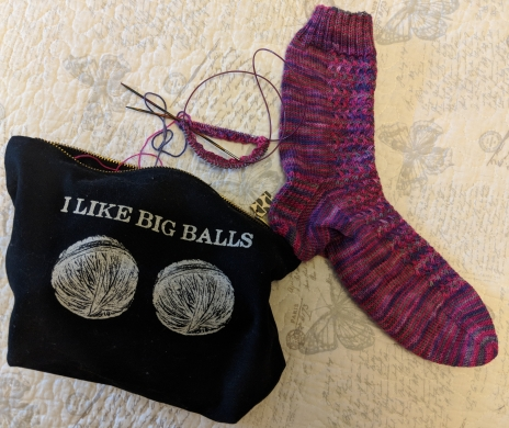 Hither and Thither Socks