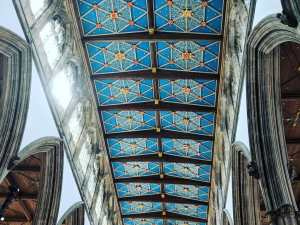 Hull Minster nave ceiling